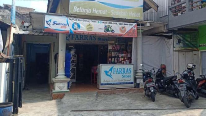 Rumah kontrakan terduga teroris di Malang.