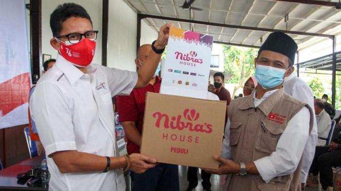 Menteri Parekraf Sandiaga Uno di Jakarta Barat