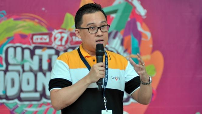 Kepala Eksekutif PT Digi Bintang Sinergi, Ahmad Zulfikar Said.