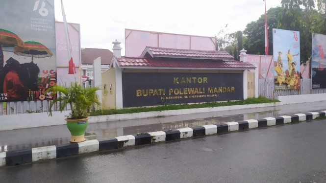 Kantor Bupati Polewali Mandar, Sulawesi Barat
