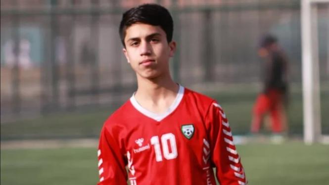 Pesepakbola Afghanistan, Zaki Anwar.