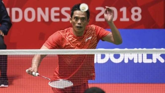 Atlet bulutangkis Indonesia, Ukun Rukaendi.