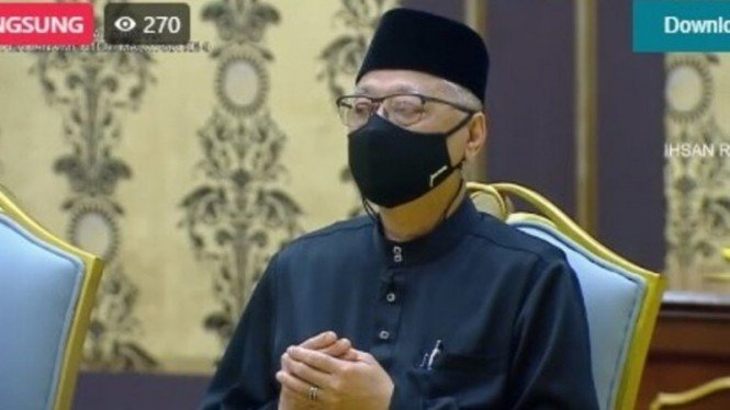 Wakil presiden UMNO Ismail Sabri Yaakob dilantik sebagai PM ke-9 Malaysia.
