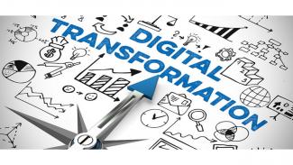 Transformasi digital.