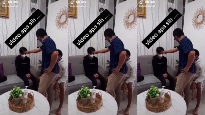Viral Video Mesum 41 Detik, Si Bapak Ancam Penyebar! (TikTok/abdultaufiq0)