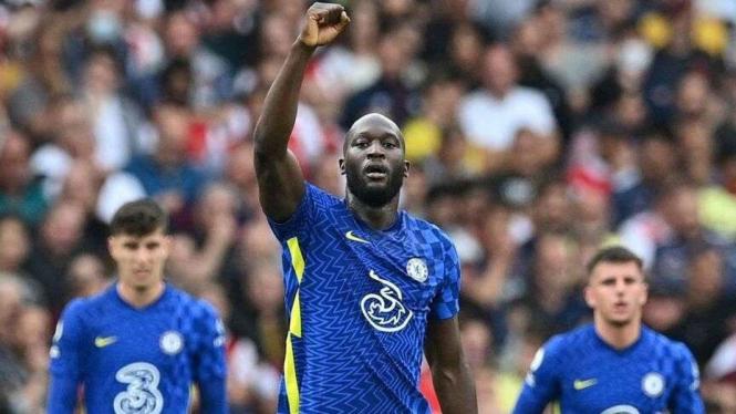 Striker Chelsea, Romelu Lukaku