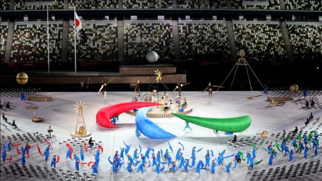 Upacara Pembukaan Paralimpiade Tokyo 2020.