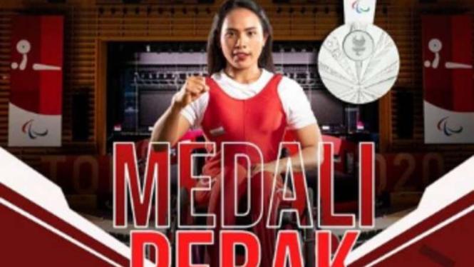 Atlet powerlifting Indonesia, Ni Nengah Widiasih.