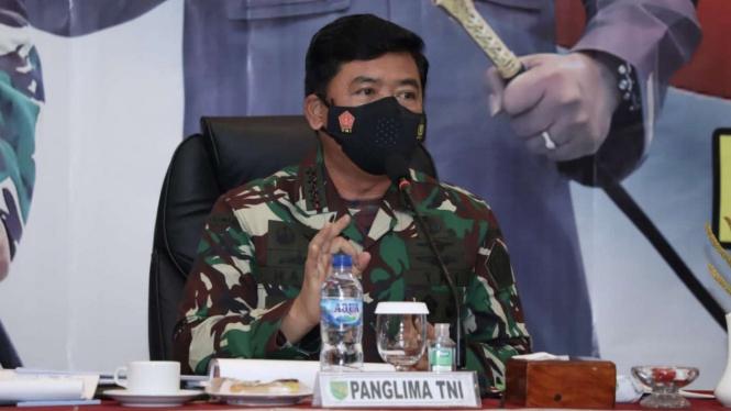 VIVA Militer: Panglima TNI pimpin rapat koordinasi persiapan PON XX di Papua