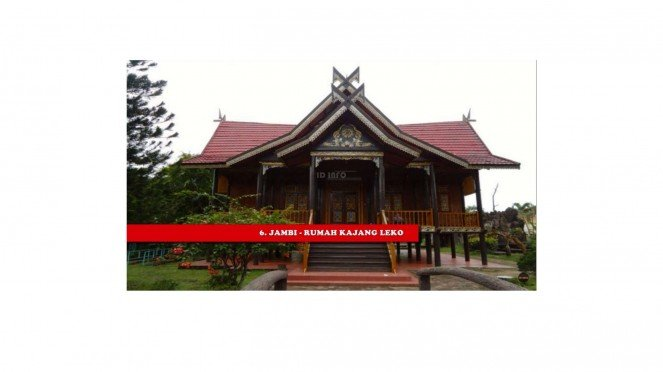 Rumah Adat Provinsi Jambi