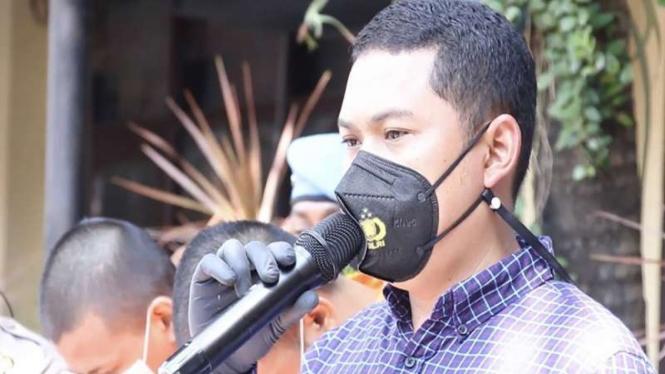 Kasat Reskrim Polresta Malang Kota Kompol Tinton Yudha Riambodo