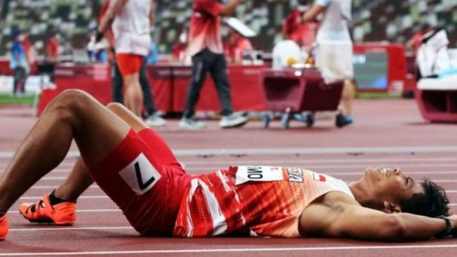 Pelari Indonesia di Paralimpiade Tokyo 2020, Saptoyoga Purnomo.
