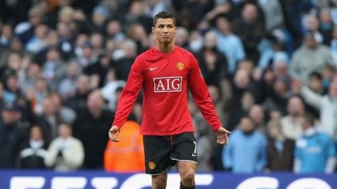 Cristiano Ronaldo di MU periode pertama