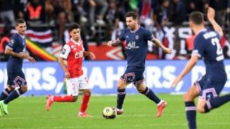 Lionel Messi jalani debut bersama PSG.