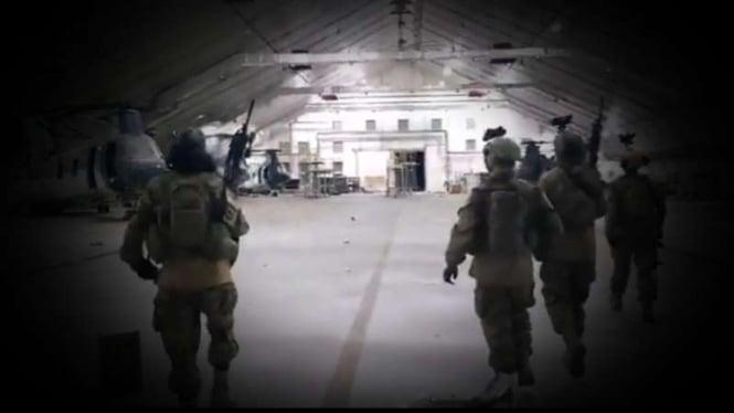 VIVA Militer: Pasukan Brigade 313 Badar di gudang harta militer Amerika.