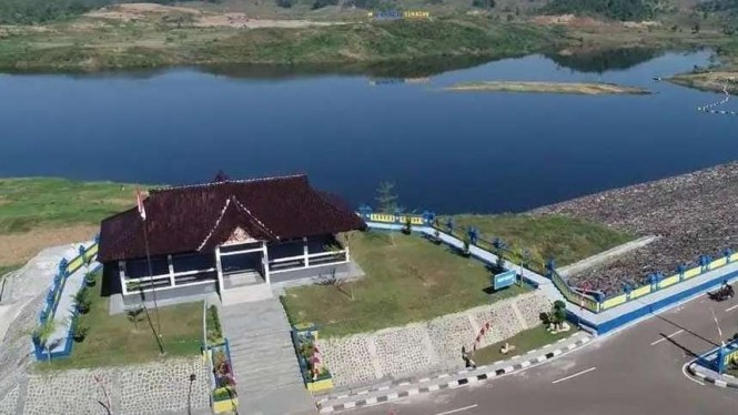 Bendungan Kuningan, Jawa Barat.