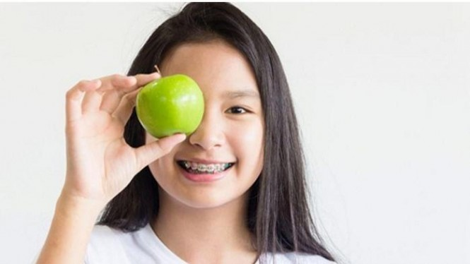 Remaja dengan Pola Diet Sehat
