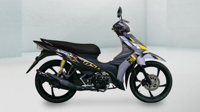 Suzuki Smash FI baru meluncur di Thailand.