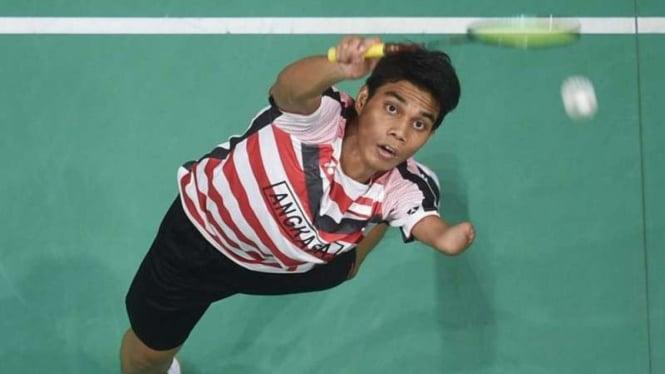Tunggal putra Indonesia, Suryo Nugroho.