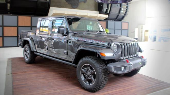 Jeep Gladiator Rubicon edisi 2021.