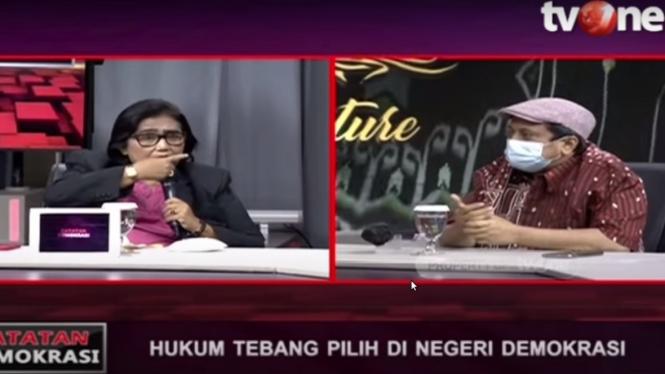 irma Suryani dan Haikal Hassan dalam Catatan Demokrasi tv0ne