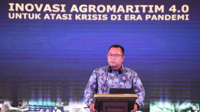 Rektor IPB University, Prof Arif Satria (Foto/ Biro Komunikasi IPB University)
