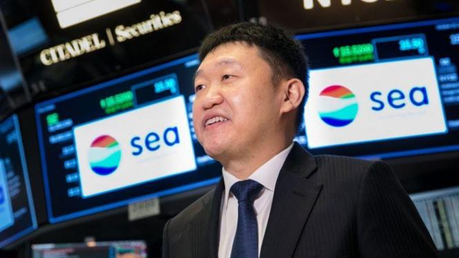 Pendiri Sea Group, Forrest Li.