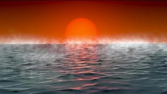 Ilustrasi Permukaan Hycean