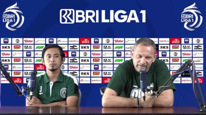 Pelatih PSS Sleman, Dejan Antonic dan Bagus Nirwanto