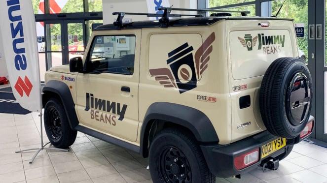 Suzuki Jimny Beans.