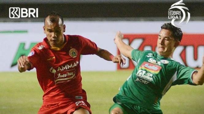 Laga Liga 1 PSS Sleman vs Persija Jakarta