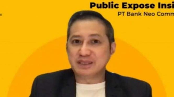 Direktur Utama PT Bank Neo Commerce Tbk (BNC), Tjandra Gunawan.