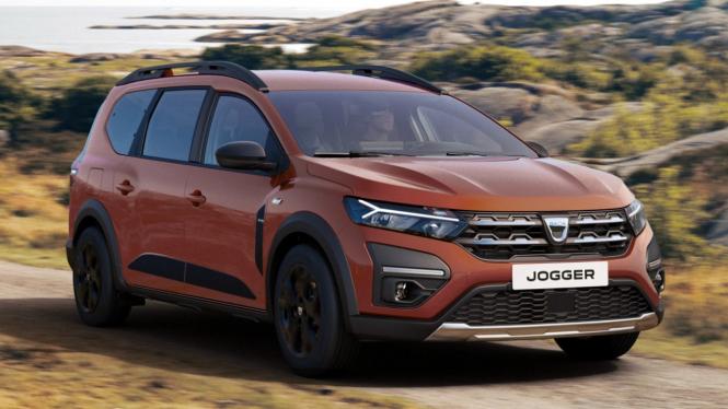 Mobil MPV Dacia Jogger diperkenalkan di Eropa.