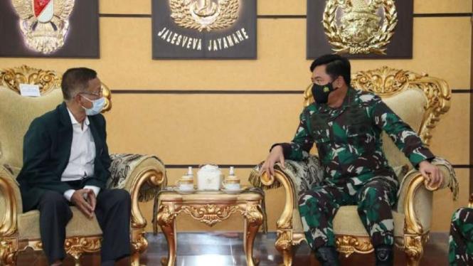VIVA Militer: Ketum PB IDI bertemu Panglima TNI Marsekal Hadi Tjahjanto