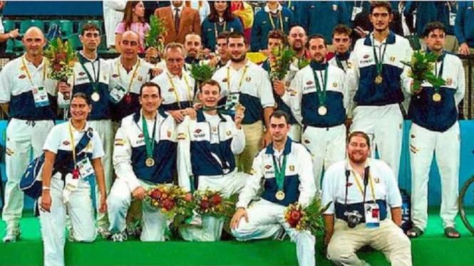 Tim Baskte Spanyol di Paralimpiade 2000