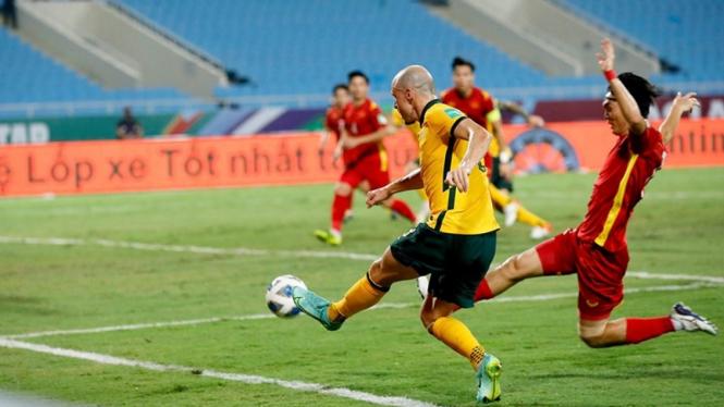 Pertandingan Timnas Vietnam vs Australia