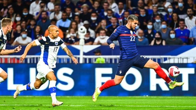 Pertandingan Timnas Prancis vs Finlandia