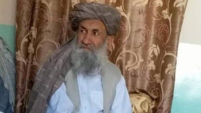 Mullah Hasan Akhund, kepala pemerintahan Afghanistan yang baru.