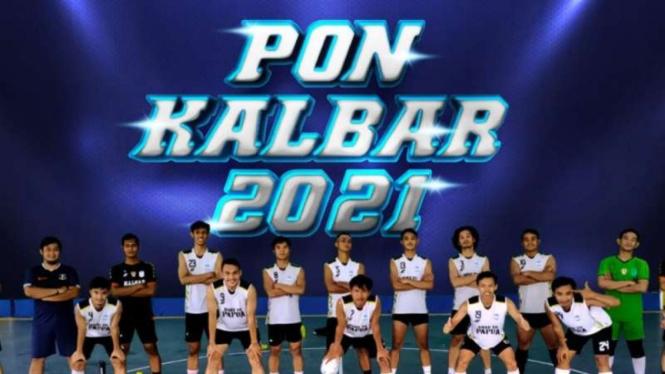 Tim futsal Kalimantan Barat di PON XX Papua