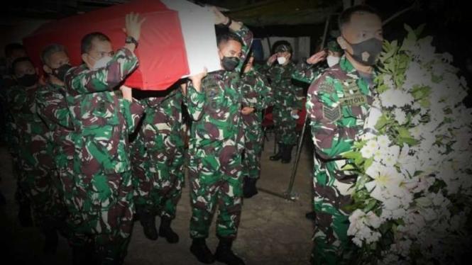 VIVA Militer: Jenazah Letkol Kav Henry