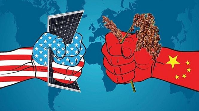 Perang Teknologi China dan Amerika Serikat (AS).