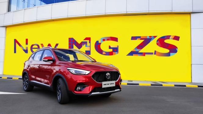 New MG ZS meluncur di Indonesia