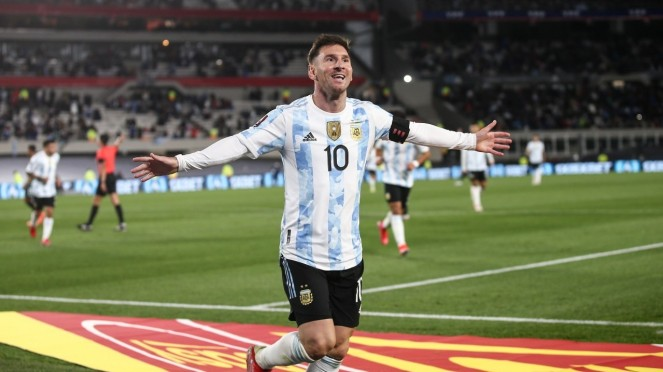 Megabintang Timnas Argentina, Lionel Messi