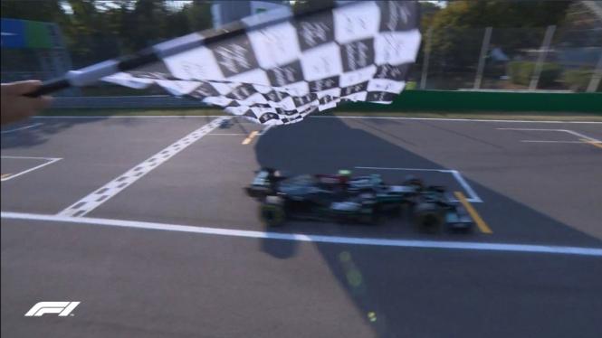 Pembalap Mercedes, Valtteri Bottas.