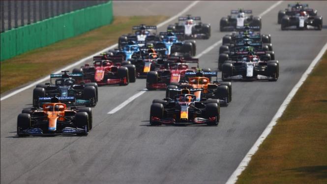 Balapan F1 GP Italia 2021.