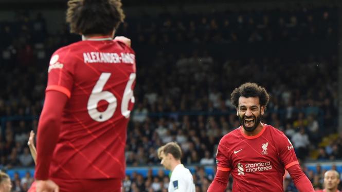 Bomber Liverpool, Mohamed Salah