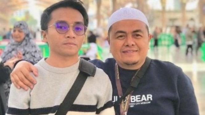 Taqy Malik dan sang ayah, Mansyardin Malik.
