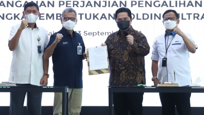 Penandatanganan Perjanjian Pengalihan Saham (13/09)