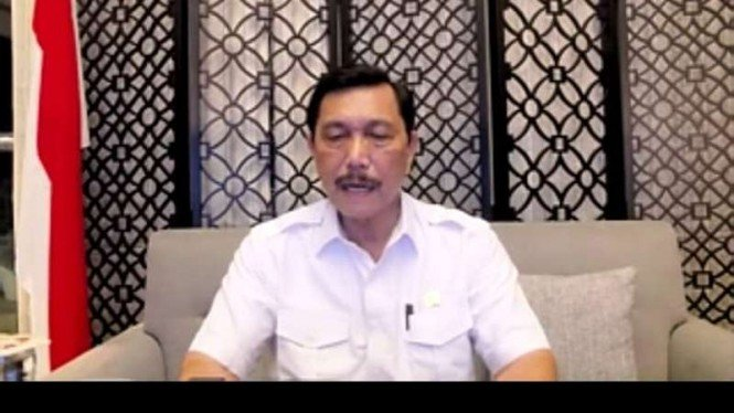 Menko Marves Luhut Pandjaitan soal PPKM dan COVID-19 Jawa-Bali