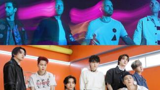 Coldplay dan BTS.